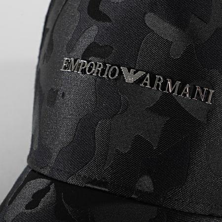 Emporio Armani - Casquette Jacquard 627565 Noir Camo