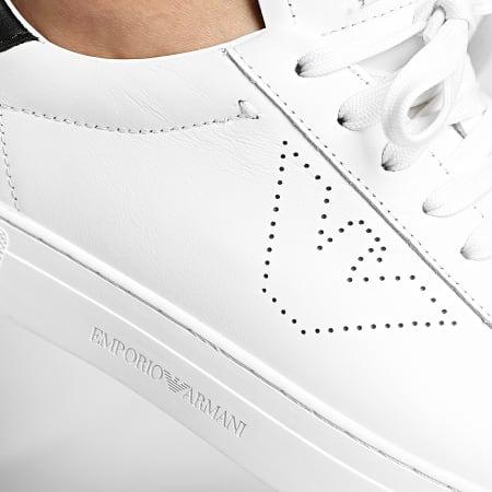 Emporio Armani - Baskets X4X316-XF527 Off White Black