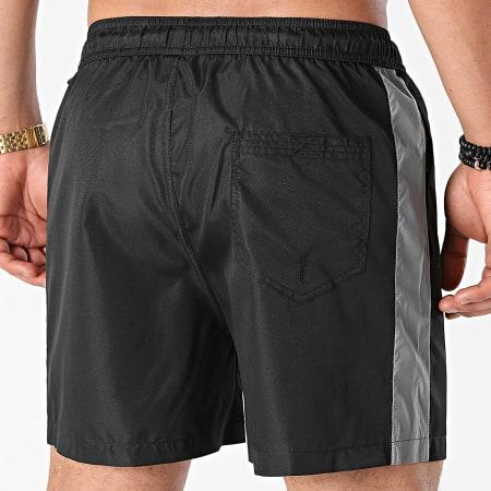 LBO - Short Jogging Diamanté Bande Reflector 0049 Noir