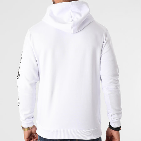 Parental Advisory - Sweat Capuche Sleeve 18 Blanc