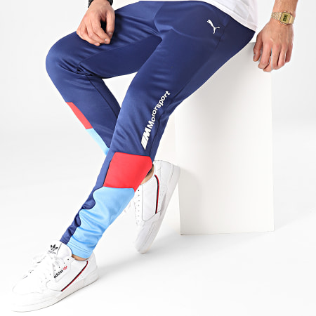 Puma - Pantalon Jogging BMW MMS 599504 Bleu Marine