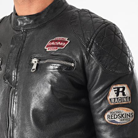 Redskins - Veste Biker Nitro Barcelona Noir