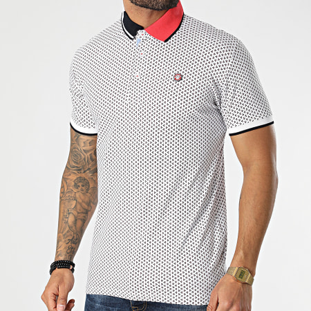 American People - Polo Manches Courtes Priam Blanc