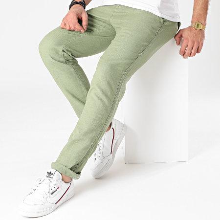 American People - Pantalon Chino Paca Vert Kaki