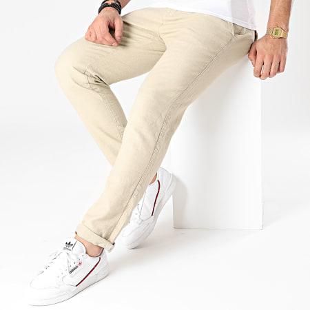 American People - Pantalon Chino Paca Beige