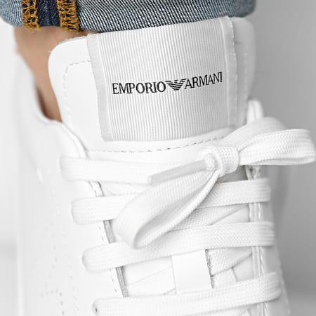 Emporio Armani - Baskets X4X316-XF527 Off White Red