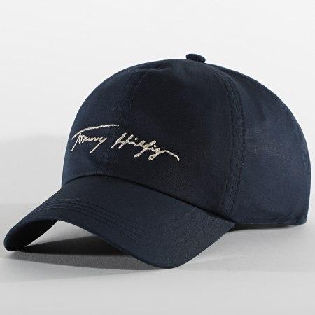 Tommy Hilfiger - Casquette Femme Signature 9806 Bleu Marine