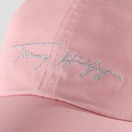 Tommy Hilfiger - Casquette Femme Signature 9806 Rose