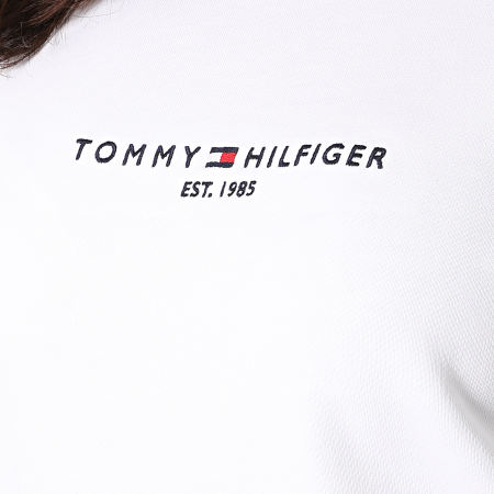 Tommy Hilfiger - Sweat Crewneck Femme Essential 8220 Blanc