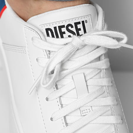 Diesel - Baskets S-Clever Low Lace Y02045-P3816 Star White Fiery Red