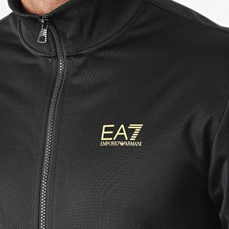 EA7- Ensemble De Survêtement 8NPV71-PJ08Z Noir Doré