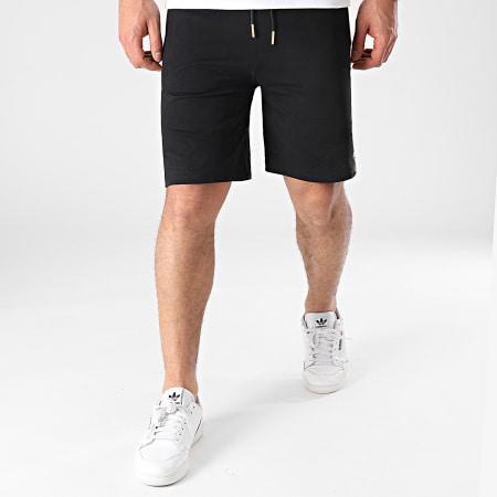 Gianni Kavanagh - Pantalon Jogging GKM001622 Noir Doré
