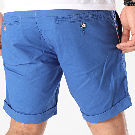 MZ72 - Short Chino Fino Bleu Roi