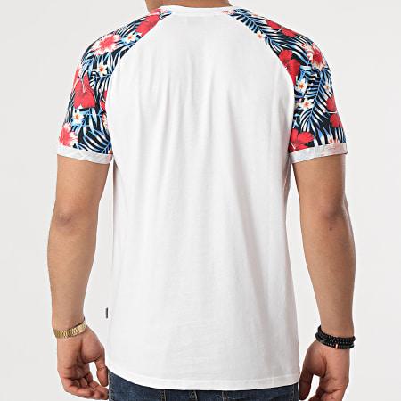 Solid - Tee Shirt Poche SDRuel 21105307 Blanc Floral