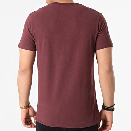 Superdry - Tee Shirt M1011005A Bordeaux