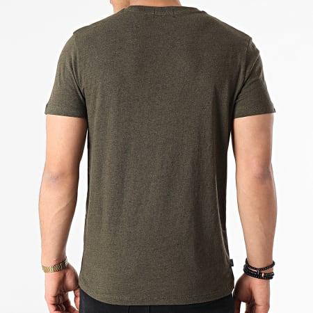 Superdry - Tee Shirt M1010222A Vert Foncé Chiné