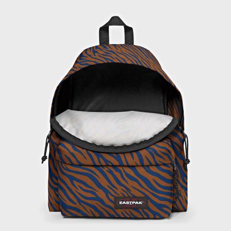 Eastpak - Sac A Dos Padded Pak'r Safari Marron Bleu