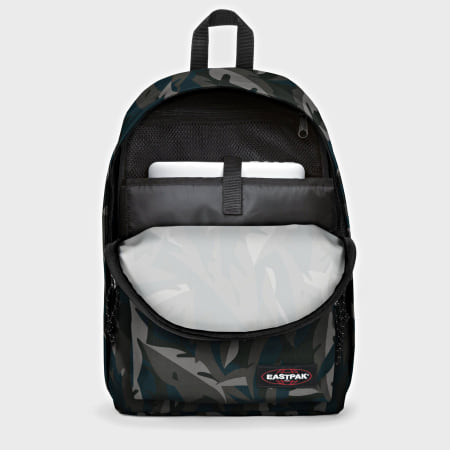 Eastpak - Sac A Dos Out Of Office Leaves Dark Gris