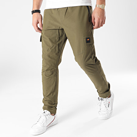 Ellesse - Pantalon Cargo Augustino SHF09103 Vert Kaki