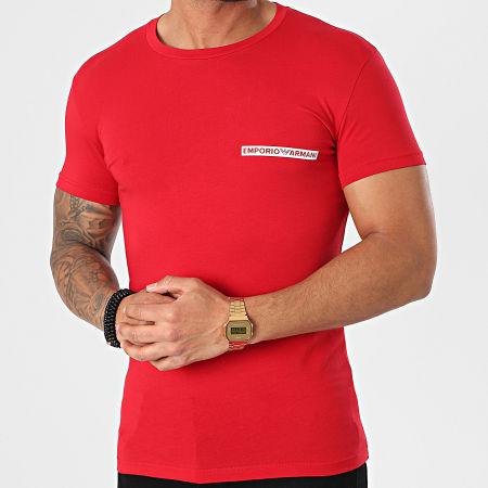 Emporio Armani - Tee Shirt 111035-1P729 Rouge
