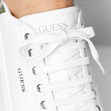 Guess - Baskets FM5SLRLEA12 White Camo