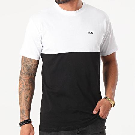 Vans - Tee Shirt MN Colorblock Noir Blanc
