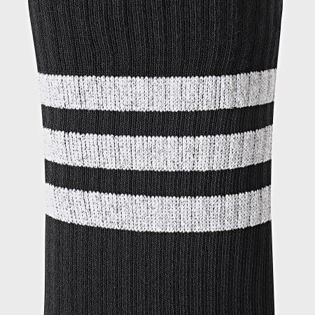adidas - Lot De 3 Paires De Chaussettes Femme Glam Crew GP3543 Blanc Noir