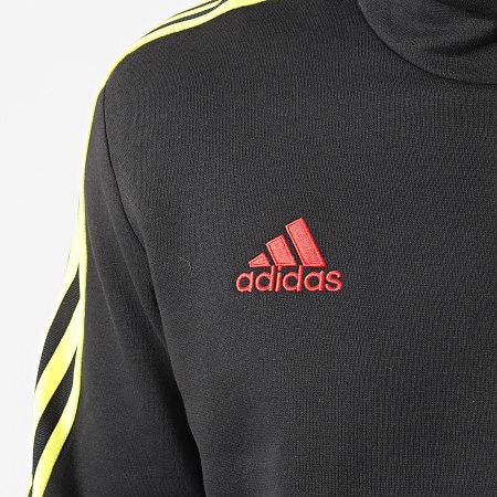 adidas - Sweat Capuche A Bandes Tiro GN5551 Noir