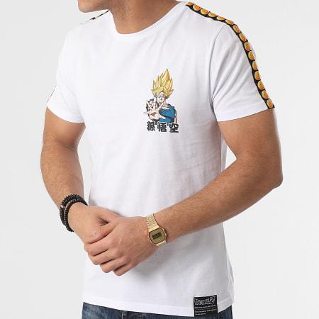 Dragon Ball Z - Tee Shirt A Bandes Goku Blanc
