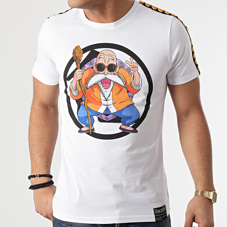 Dragon Ball Z - Tee Shirt A Bandes Kame Chest Blanc