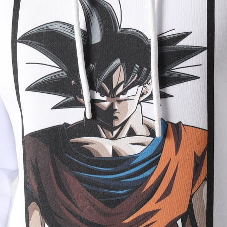 Dragon Ball Z - Sweat Capuche Goku Blanc