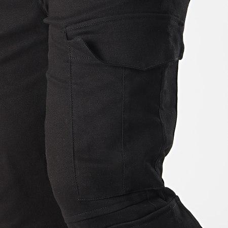 Frilivin - Pantalon Cargo BM1231 Noir