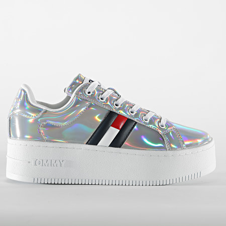 Tommy Jeans - Baskets Femme Fully Iridescent Ironic 1366 Iridescent