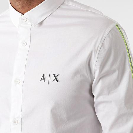Armani Exchange - Chemise Manches Longues Réfléchissant 3KZC17-ZNQFZ Blanc