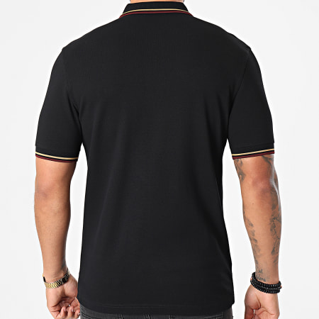 Fred Perry - Polo Manches Courtes Twin Tipped M3600 Noir