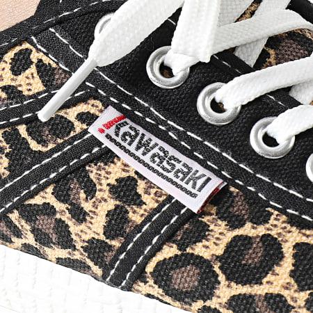 Kawasaki - Baskets Femme K-Players Star Canvas K192029 Leopard