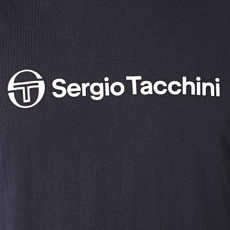 Sergio Tacchini - Débardeur Allow 39056 Bleu Marine