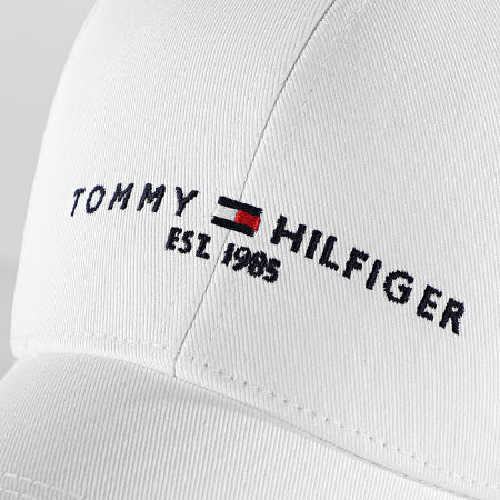 Tommy Hilfiger - Casquette Established 7352 Blanc
