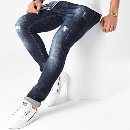 Classic Series - Jean Skinny 2021-52 Bleu Brut