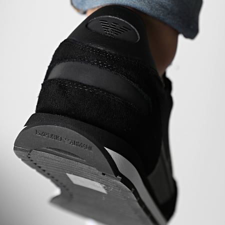 Emporio Armani - Baskets X4X537-XM678 Black Black Black