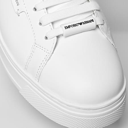 Emporio Armani - Baskets X4X308-XM709 Optical White Black