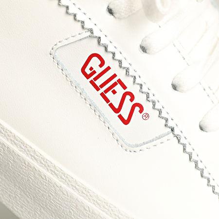 Guess - Baskets FM5MIMILEA12 White Red