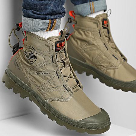 Palladium - Boots Pampa Travel Lite 77039 Dusky Green