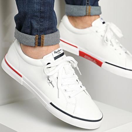 Pepe Jeans - Baskets Kenton Smart Court PMS30701 White