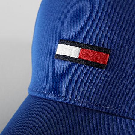Tommy Jeans - Casquette Flag Cap 7170 Bleu Roi