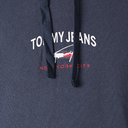 Tommy Jeans - Sweat Capuche Timeless Tommy 0208 Bleu Marine