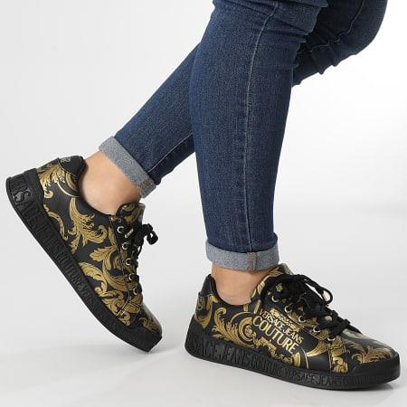 Versace Jeans Couture - Baskets Femme Linea Fondo Penny Black Renaissance