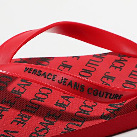 Versace Jeans Couture - Tongs Linea Fondo Flip Flop E0YWASQ7 Rouge
