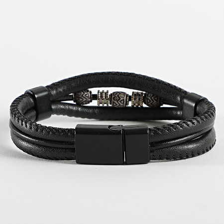 Black Needle - Bracelet BBN-391 Noir