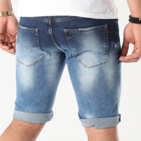 Classic Series - Short Jean 7203 Bleu Denim